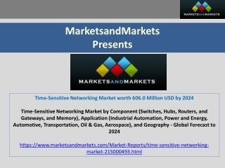Time-Sensitive Networking Market