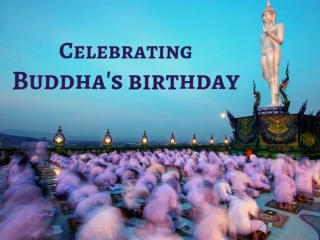 Celebrating Buddha's birthday 2019