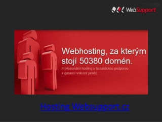 Hosting Websupport