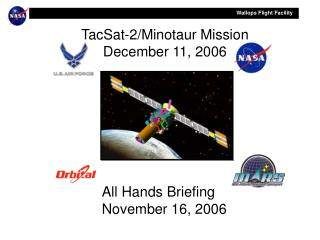 TacSat-2/Minotaur Mission December 11, 2006