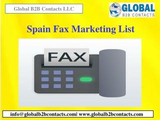 Spain Fax Marketing List