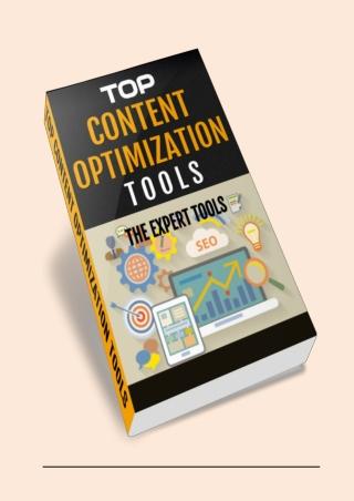 Content Optimization Tools