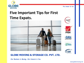 FIVE IMPORTANT TIPS FOR FIRST TIME EXPATS