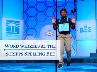 Word whizzes at the Scripps Spelling Bee 2019