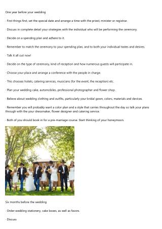 Wedding Planning & Wedding Furniture & Wedding Bands