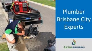 Plumber Brisbane City Experts