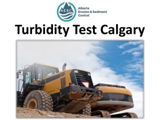Turbidity Test Calgary