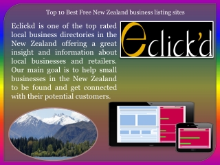 Top 10 Best Free New Zealand business listing sites