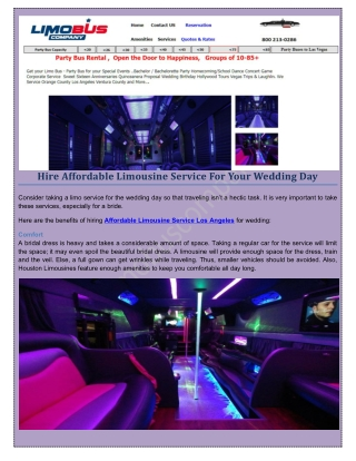 Party bus rentals to vegas | LimoBus Company