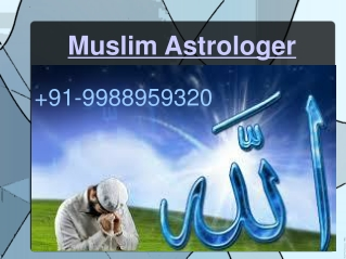 Love probkem solution by famous muslim astrologer