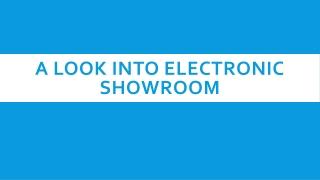 Electronic Showroom