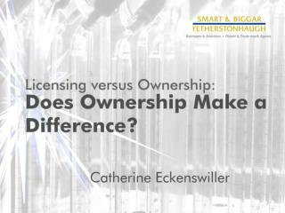 The Ownership Dilemma
