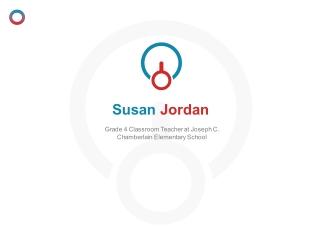 Susan Jordan (Foxboro MA) - Grade 4 Classroom Teacher