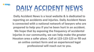 Daily Accident News