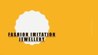 Fashion imitation Jewelry with Latest 10 Designs