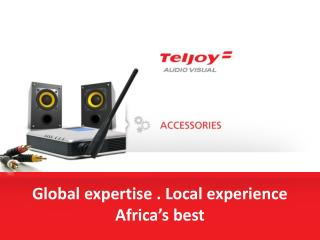 Global expertise . Local experience  Africa's best
