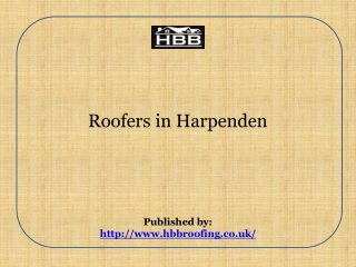 Roofers in Harpenden