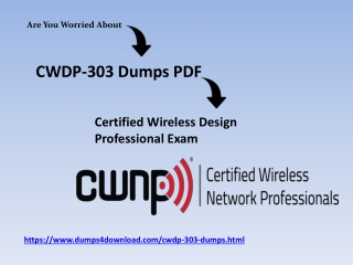 Updated CWNP CWDP-303 Exam Questions & Answers Dumps
