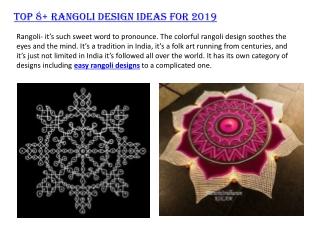 Top Rangoli Designs