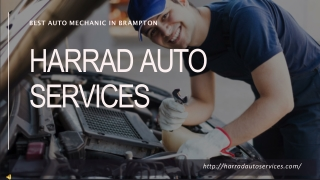 Best Auto Mechanic in Brampton | Harrad Auto Services