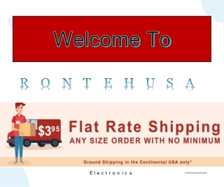 Flat rate shipping Cat6 Waterproof Connectors - Rontechusa