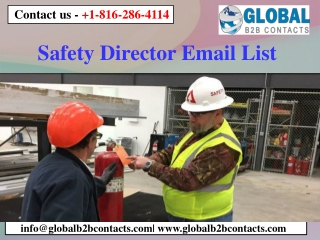 Safety Director Email List