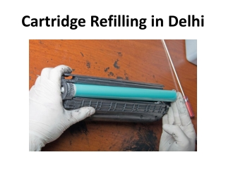 All Brand Laser Toner Cartridge Refilling - Hp, Canon, Xerox, Samsung, Brother in Delhi, Gurgaon