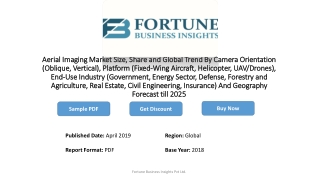 Global Aerial Imaging Market 2019 Industry Size and Share Evolution to 2025 by Growth Insight, Key Development, Trends a