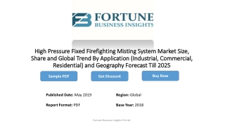 High Pressure Fixed Firefighting Misting System Market Size, Industry Share and Growth Rate 2019-2025