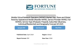 At 7.8% CAGR, Mobile Virtual Network Operators Market Size to Reach US$ 113.9 Bn by 2025