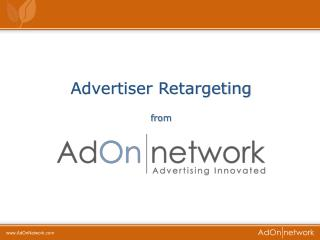 Advertiser Retargeting  from