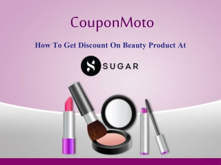 How to use Sugar Cosmetic Coupon Code?
