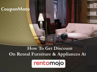How to use Rentomojo Coupons?