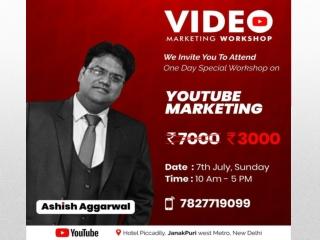 Youtube Marketing Workshop by Ashish Aggarwal