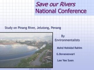 Save our Rivers  National Conference