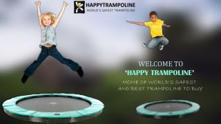 'Happy Trampoline' World's Biggest & Safest Trampoline Store in USA.