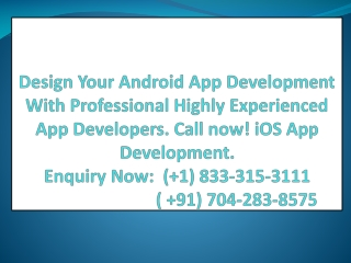 Affordable Android App Development Services