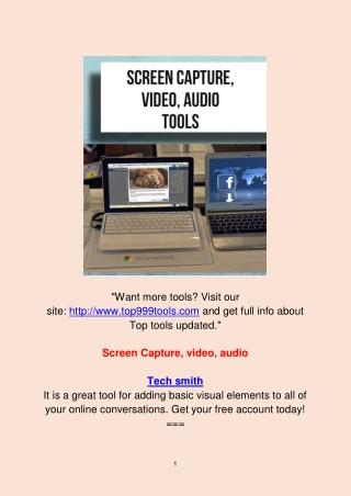 Screen Capture Video Audio