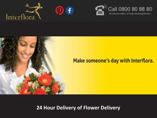 24 Hour Delivery of Flower Delivery