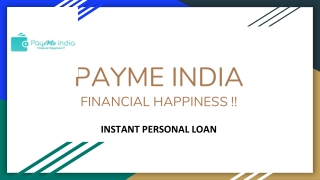 Instant Personal Loan In India