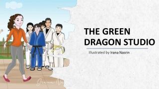 The green dragon studio   Irana Nasrin   Children Book Illustration   Kids Illustration