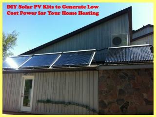 Solar PV kits