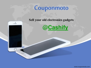 How to use Cashify Coupons?