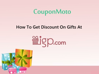 How to usse IGP Coupons?