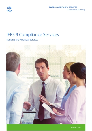 IFRS 9 Compliance Services for Banking and Finance by TCS