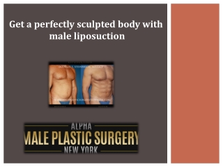 What is male liposuction?