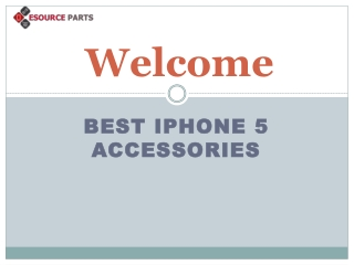 Good Quality iPhone 5 accessories