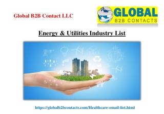 Energy & Utilities Industry List