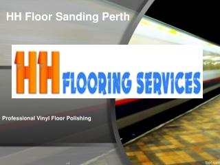Professional Vinyl Floor Polishing
