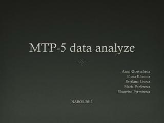 MTP-5
